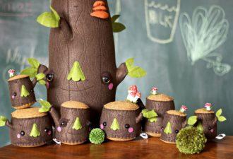 Деревья и пеньки