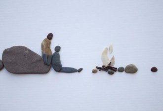 Творчество из камней