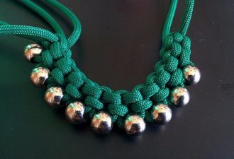 ожерелье в этническом стиле своими руками