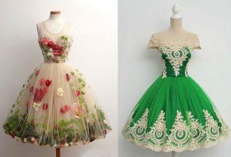 Платья в стиле 50х