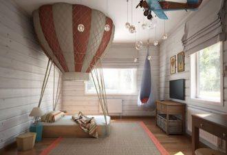 Идеи оформления детской спальни