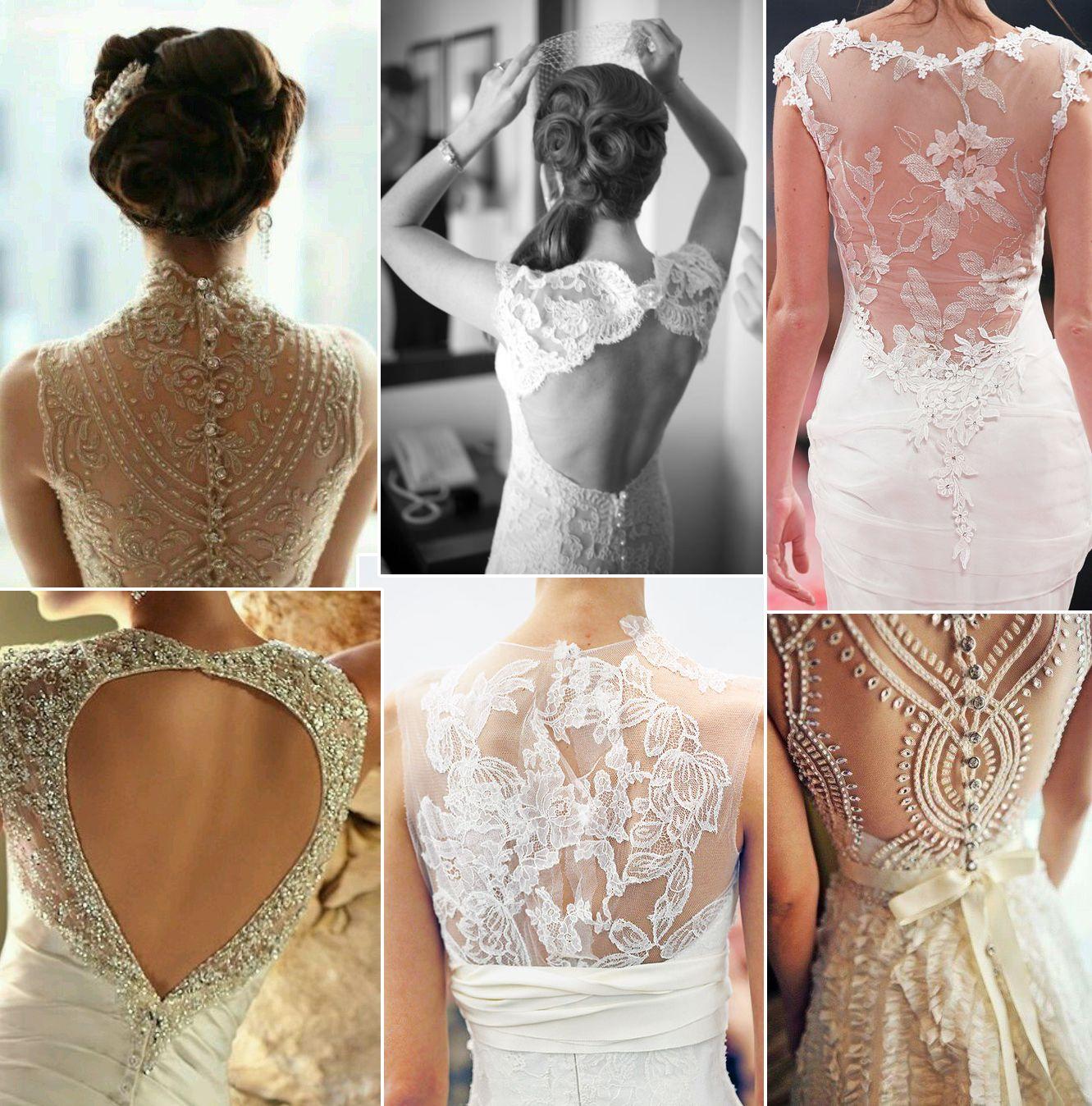 Платья с игривыми спинками