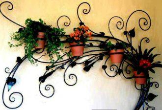 Креативные подставки под цветы