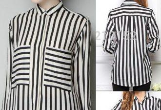 Шикарная блуза своими руками с выкройками на любой размер