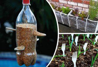 Инструменты для огорода, которые почти ничего не стоят