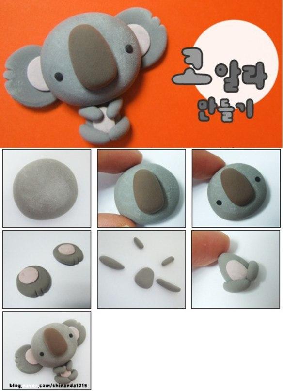Простые поделки из глины