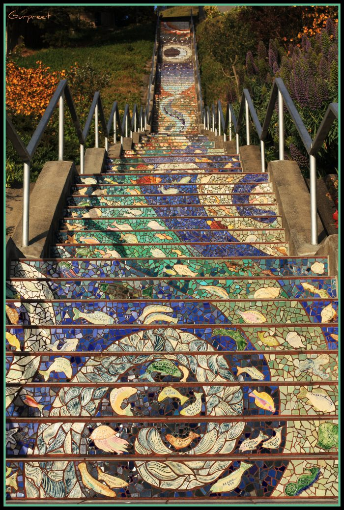The Tiled Steps