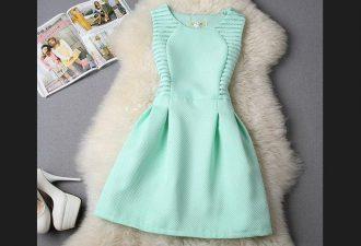 Стильное платье с выкройками на размеры 38-50