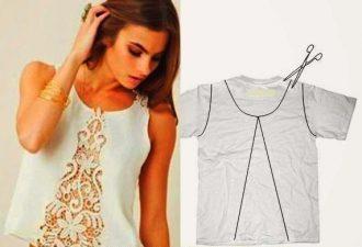 8 гениально простых идей переделки одежды