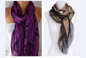 Как стильно завязать шарф этой осенью: 32 образа