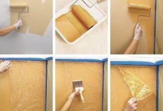 4 бюджетных способа покрасить стены как в элитном жилье