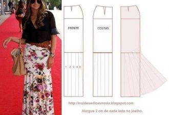 7 моделей юбок на любой вкус с выкройками