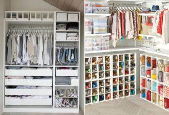 правильно организованный гардероб