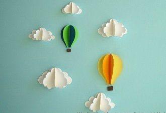Объемная аппликация из бумаги: простое творчество с детьми