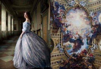 Фотопроект Fashion and Baroque: вдохновение в архитектуре