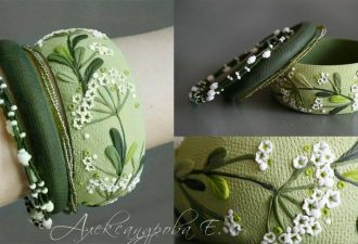 Изумительные браслеты из полимерной глины от Евгении Александровой