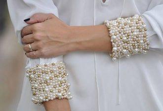 Жемчужные идеи декора одежды: 8 женственных вариантов