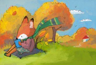 Добрые детские иллюстрации от художницы Dolphine Doreau