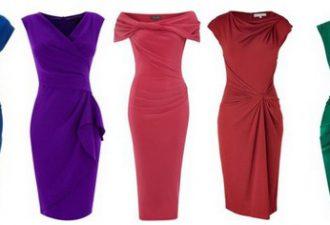 Платья с драпировками: вдохновение в складках ткани