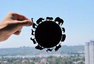 DreamPapercut: волшебные творения из простого листа бумаги
