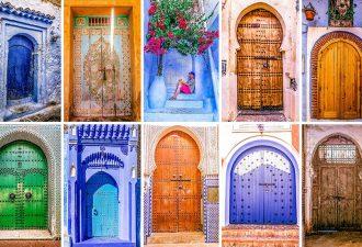 Красочные двери Марокко - двери в удивительный восточный мир