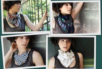 12 изобретательных идей украшений из... галстуков