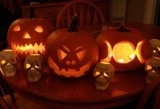 10 идей красивых украшений из тыквы на Хэллоуин