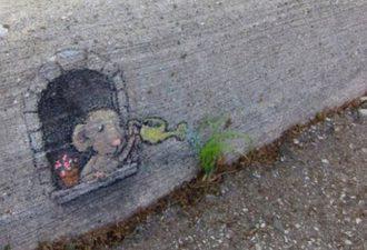 Уличное искусство от разных мастеров: позитив на улицах города