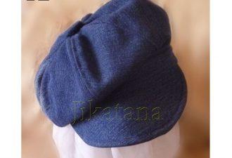 Кепи из джинсовой ткани своими руками
