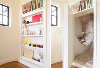 8 идей создания потайной комнаты, о которой вы всегда мечтали