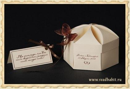 10 праздничных коробок своими руками с шаблонами