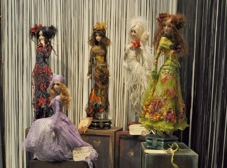 Загадочная красота авторских кукол Миланы Шупа-Дубровой
