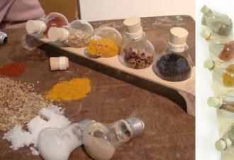 10 вариантов использования старых лампочек с пользой