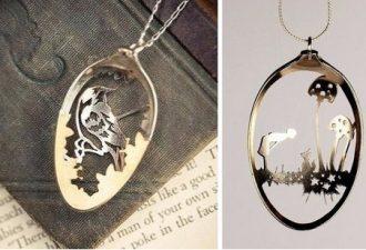 Впечатляющие украшения из ложек от Anomali Jewelry