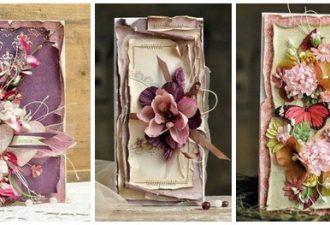 Вдохновляющие дизайнерские открытки ручной работы