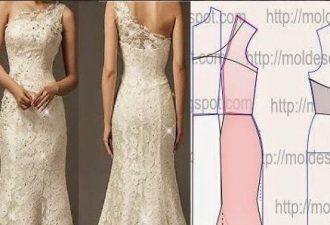 6 сногсшибательных вечерних платьев с выкройками