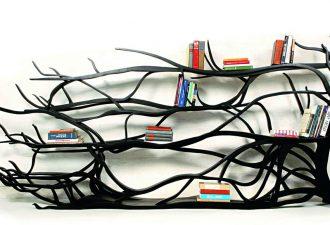 Идеи самых креативных полочек из природного материала