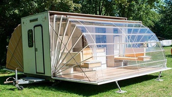 Мобильный домик-«раскладушка»: идеальный вариант для отдыха и рыбалки