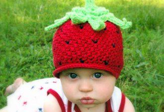 4 милых детских шапочки с описанием процесса вязания