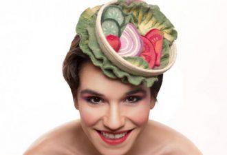 Аппетитные шляпы от Маору Zabar: так и хочется съесть их