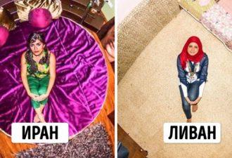 12 спален людей со всего мира в удивительном фотопроекте