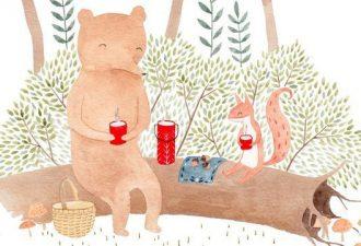 Сказочные иллюстрации от художницы Julianna Swaney