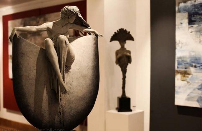 Удивительные скульптуры от Майкла Джеймса Талбота