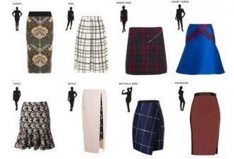 Как выбрать юбку по фигуре: рассматриваем 8 типов телосложения