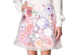 Вдохновение: яркие и впечатляющие юбки с аппликациями