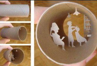 Жизнь в рулонах от Anastasia Elias или что можно сделать с втулкой от туалетной бумаги