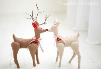 Олень и снеговик своими руками: готовим рождественские сюрпризы