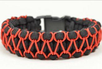 Плетём браслеты из шнура своими руками: 8 обучающих уроков