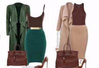 10 самых стильных сочетаний одежды на холодную пору