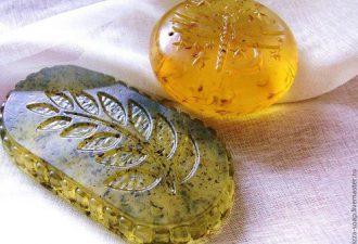 Простой рецепт натурального мыла из трав с природными красителями